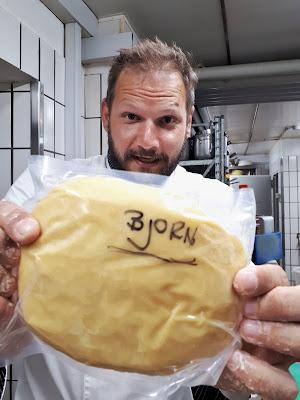 Bjorn Troch making pasta
