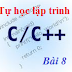 [Tự học lập trình C/C++] Bài 8: Cấu trúc lựa chọn switch... case