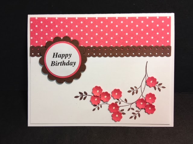 Greeting card for the 25 red florets