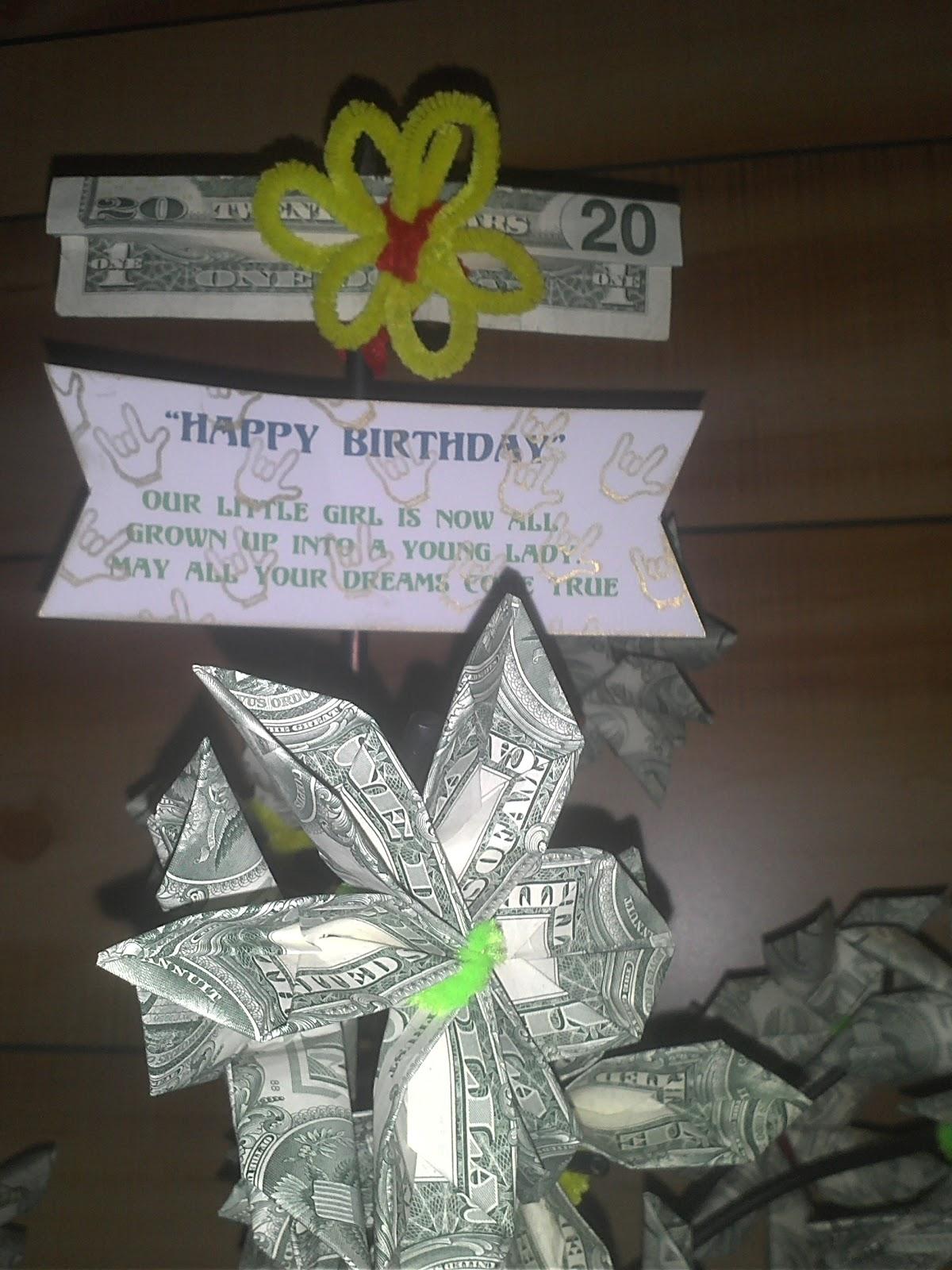 Shantastic Shine A Shantastic 21st Birthday D Money Tree