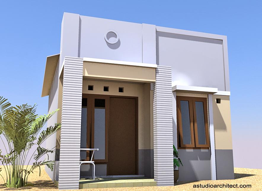 Rumah Minimalis Sederhana Atap Asbes - Gambar Om