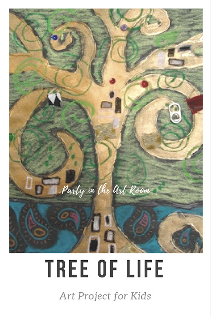 tree of life art for kids klimt