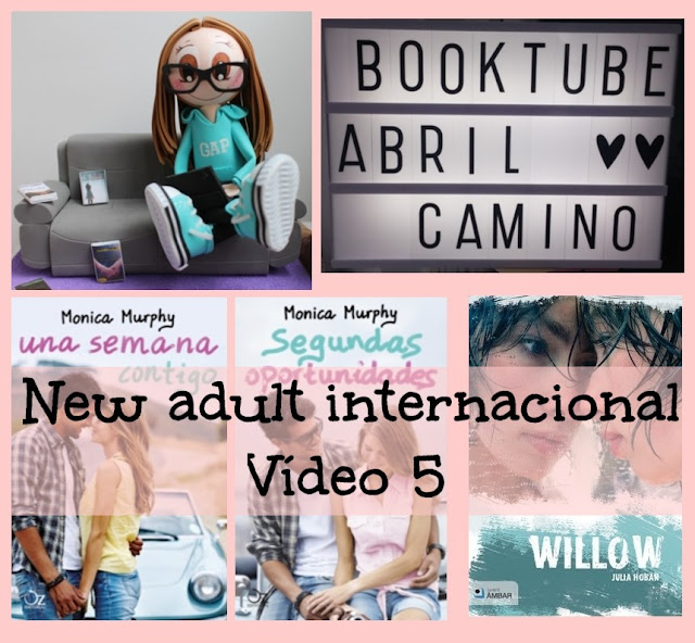 Romántica new adult internacional (Vídeo 5)