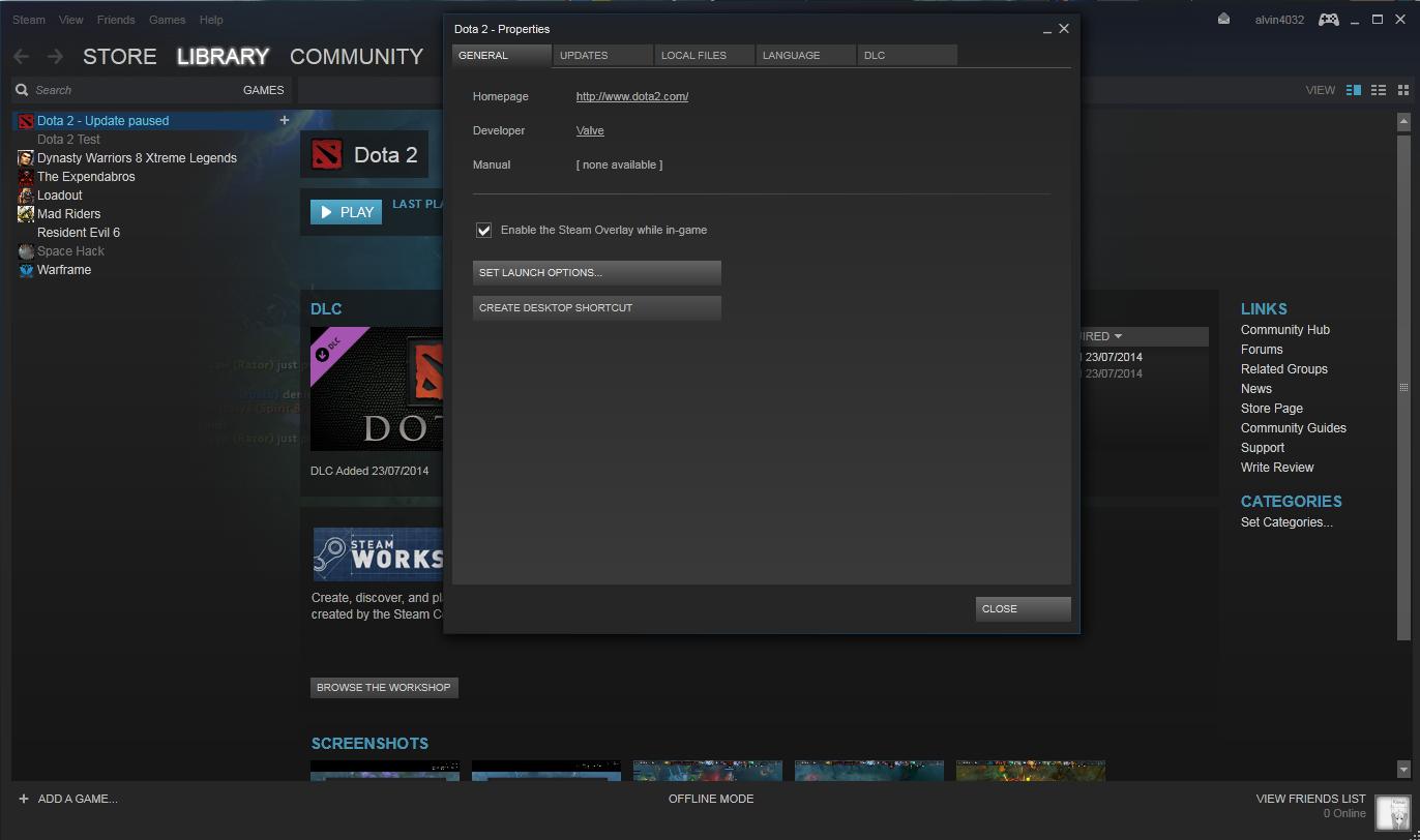 Cara Main DOTA 2 Offline Mode LAN MODE RieVazZ