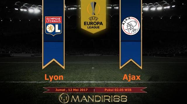 Prediksi Bola : Lyon Vs Ajax , Jumat 12 Mei 2017 Pukul 02.05 WIB