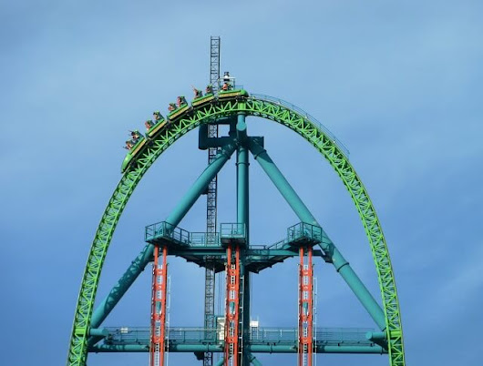 Top 5 biggest roller coaster in the world