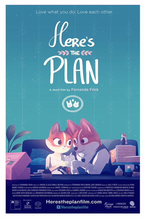 Here´s the Plan cortometraje de Fernanda Frick | Chile | Animación