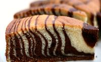 Baking Recipes Bolu Zebra Soft Favors and Specials