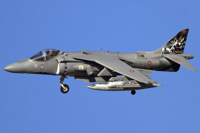 Harrier Marina Militare incidente Grottaglie