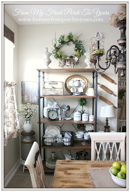French Farmhouse-Kitchen-Breakfast-Nook-From My Front Porch To Yours