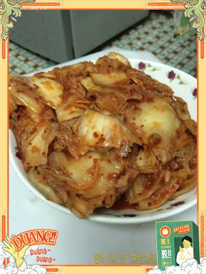 韓式炒牛肉的好捧油~農家許媽媽的韓式泡菜
