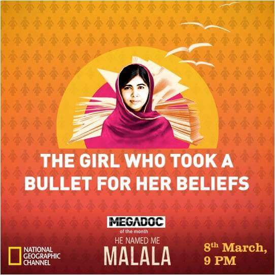 'He Named Me Malala' Nat Geo Upcoming Doc Film Wiki Plot,Cast,Promo,Timing