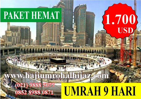 Biaya Paket Umroh April 2016 Al Hijaz Indowisata
