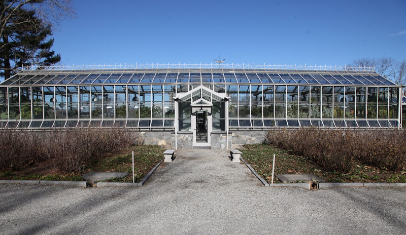 MARTHA MOMENTS: Martha's Conservatory Greenhouse