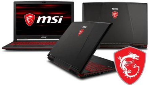 MSI Notebook Gaming GL63 8RC