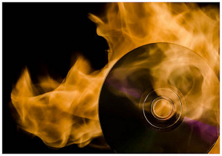 Cara Burning CD DVD