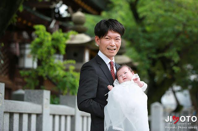 大阪天満宮でお宮参り出張撮影