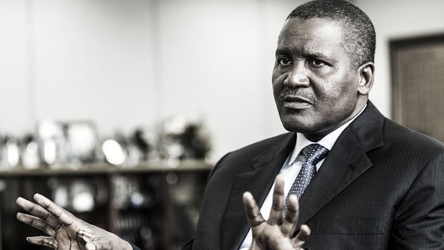 61-year-old billionaire Aliko Dangote says he is ready to take a wife now