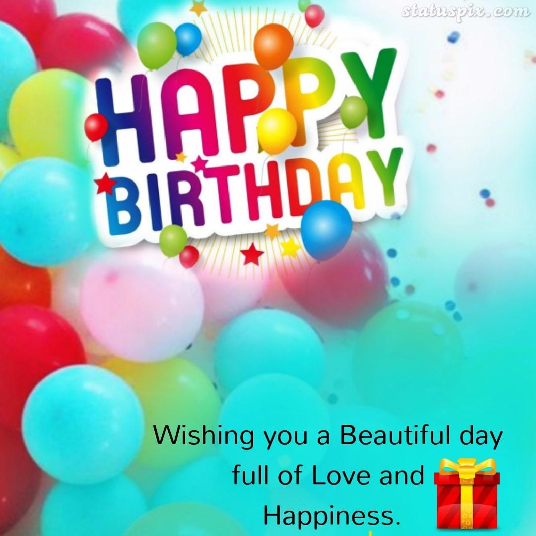 Happy Birthday Captions to wish