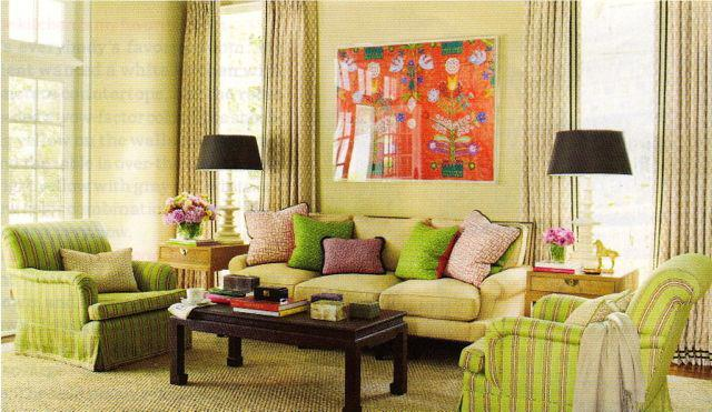 mixing patterns and prints in interior design - Patterns In Interior Design