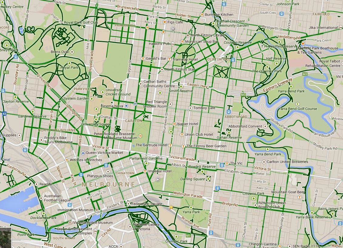 Better By Bicycle: How useful is Open Street Map's cycling