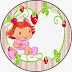 Strawberry Shortcake Baby Party: Free Printable Candy Bar Labels.