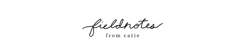 fieldnotes from catie