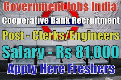 Cooperative Bank Recruitment 2019