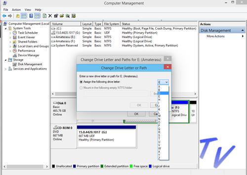 Cara Mengurutkan/ Mengganti Drive Letter Harddisk Pada Windows 10 3