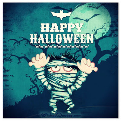 scary happy halloween 2016 card zombie