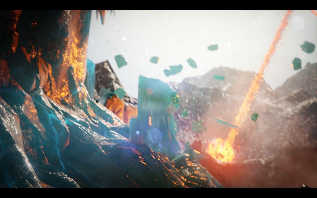 Unreal Engine 4 Elemental Demo PlayStation 4 - GamingReality