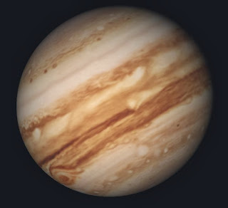 Photograph of Jupiter