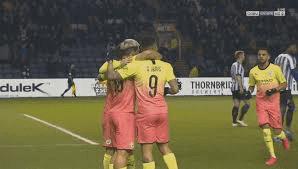 هدف فوز مانشستر سيتي علي شيفيلد وينزداي (1-0) كأس الاتحاد الانجليزي