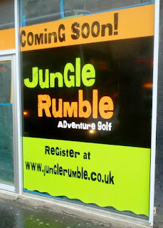 Jungle Rumble Adventure Golf will soon be open in Glasgow. Photo by John Moore
