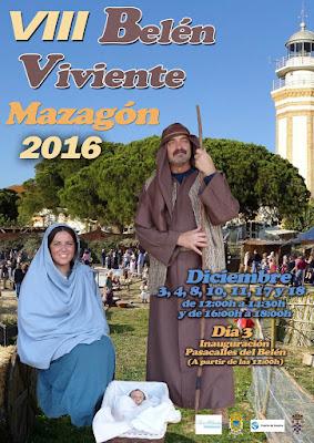 Belén Viviente de Mazagón (Huelva) 2016