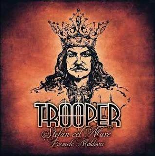 """Ο δίσκος των Trooper """"Ștefan cel Mare / Poemele Moldovei"""""""