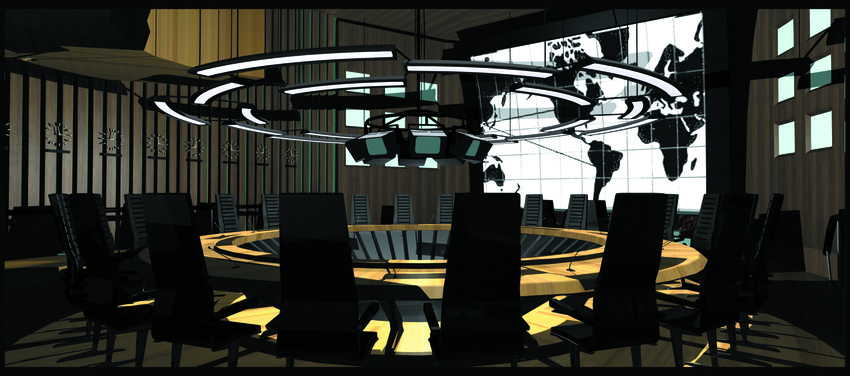 Conference Room Concept Art