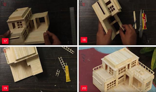 540 Gambar Rumah Dari Stik Yang Mudah Dibuat Gratis Terbaik