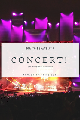 "How to behave at... a concert | Is there such a thing as ""concert etiquette""? Are there any rules on how one should behave when is at a concert? Read my take on this, with a high level of sarcasm."