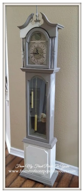 Dumpster Dive Grandfather Clock- From My Front Porch To Yours