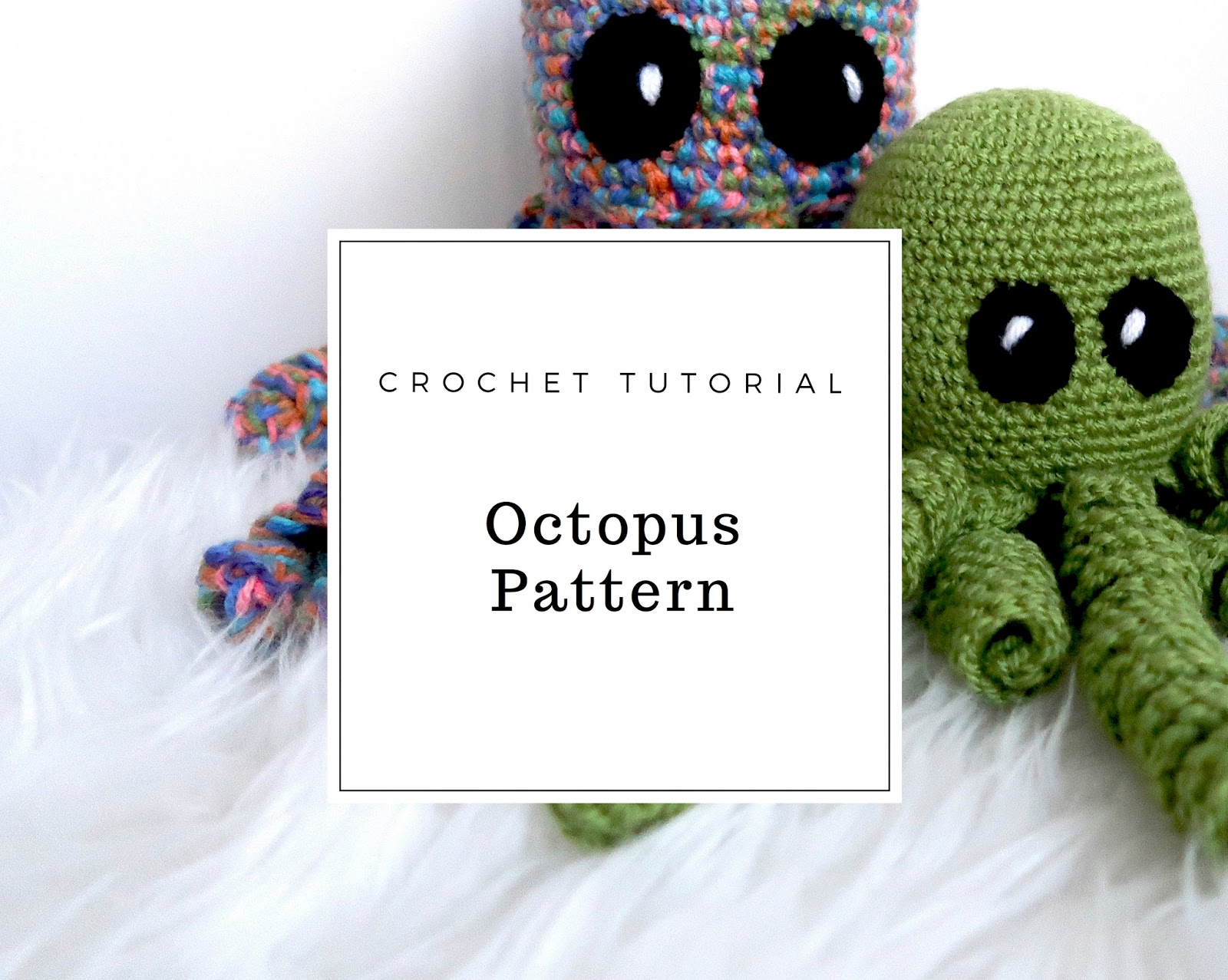 Easy Crochet Octopus Pattern - The Crafty Co | The Crafty Co