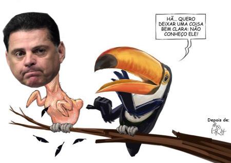 Resultado de imagem para Goiás, Marconi Perillo, do PSDB - charges