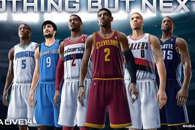 NBA 2k14 roaster