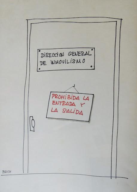 Jaume Perich ilustración política dibujo Gaudifond Arte