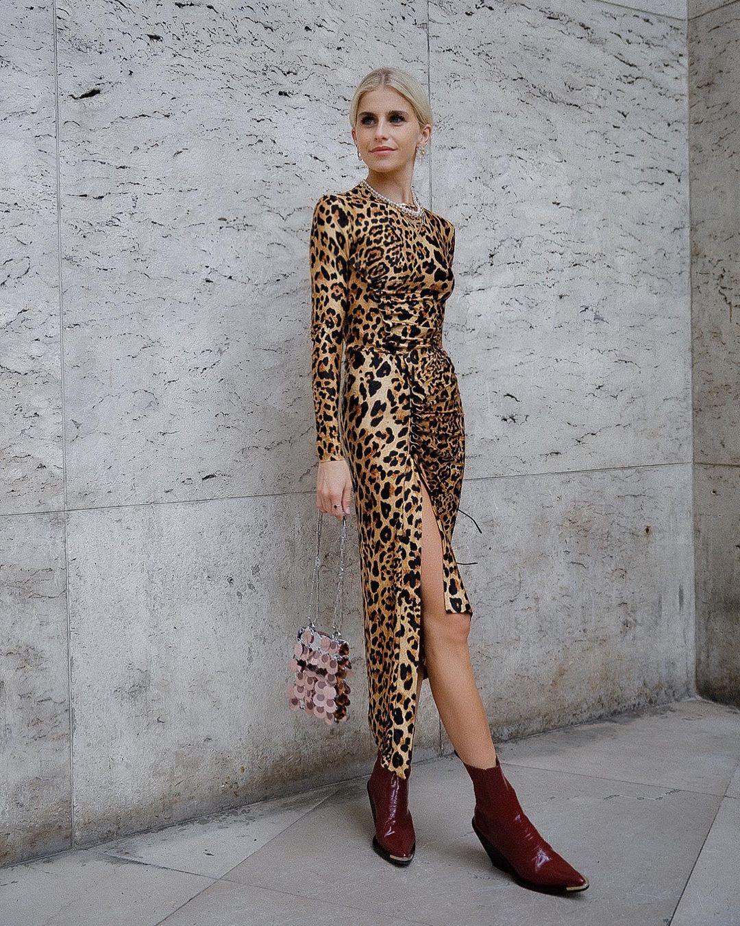 The 20 Best Animal Print Dresses of the Season