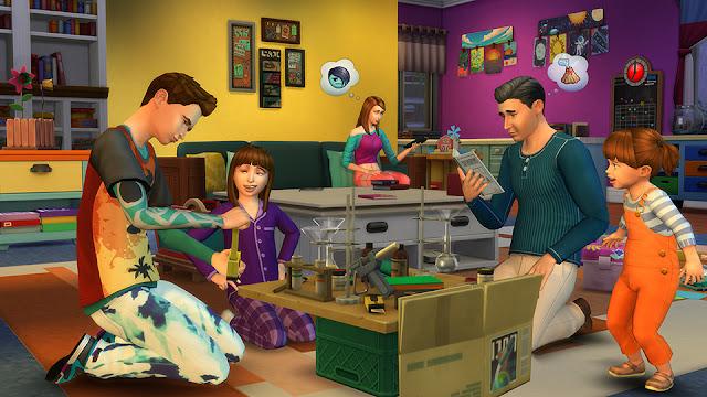 Con los Sims 4 Papás y Mamás Pack de Contenido experimentarás las sensaciones de vivir en familia