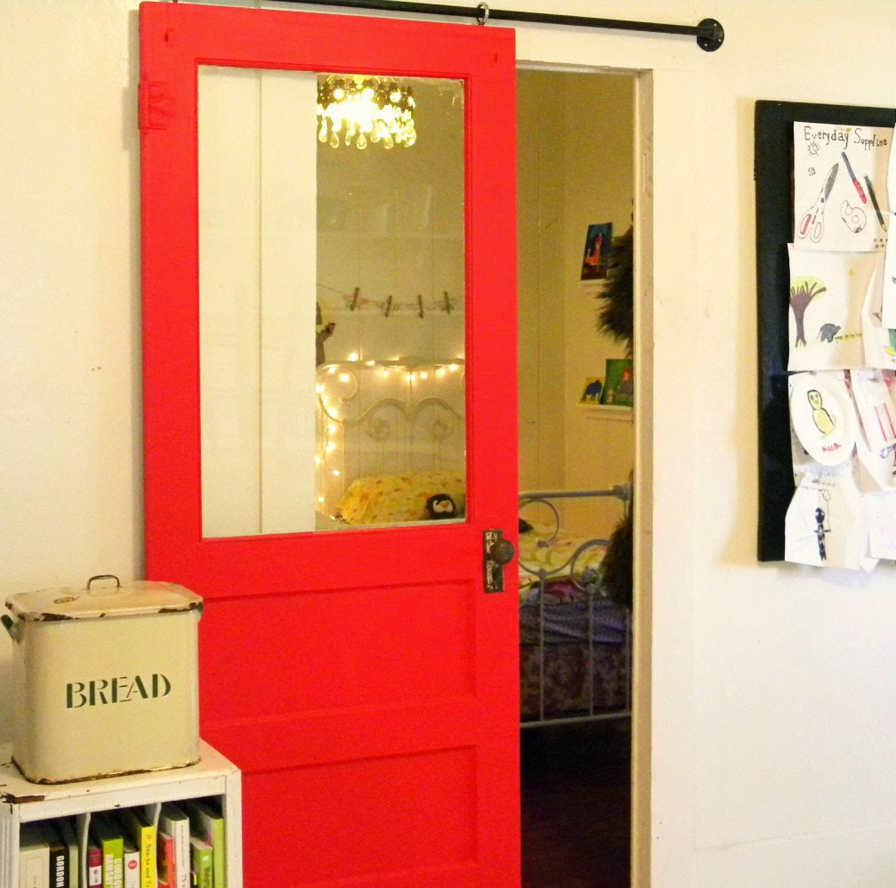 10 id es originales pour peindre son int rieur blog d co for Idee decoration porte coulissante