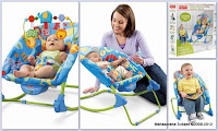 4 Fisher Price Deluxe Infant to Toddler Comfort Rocker