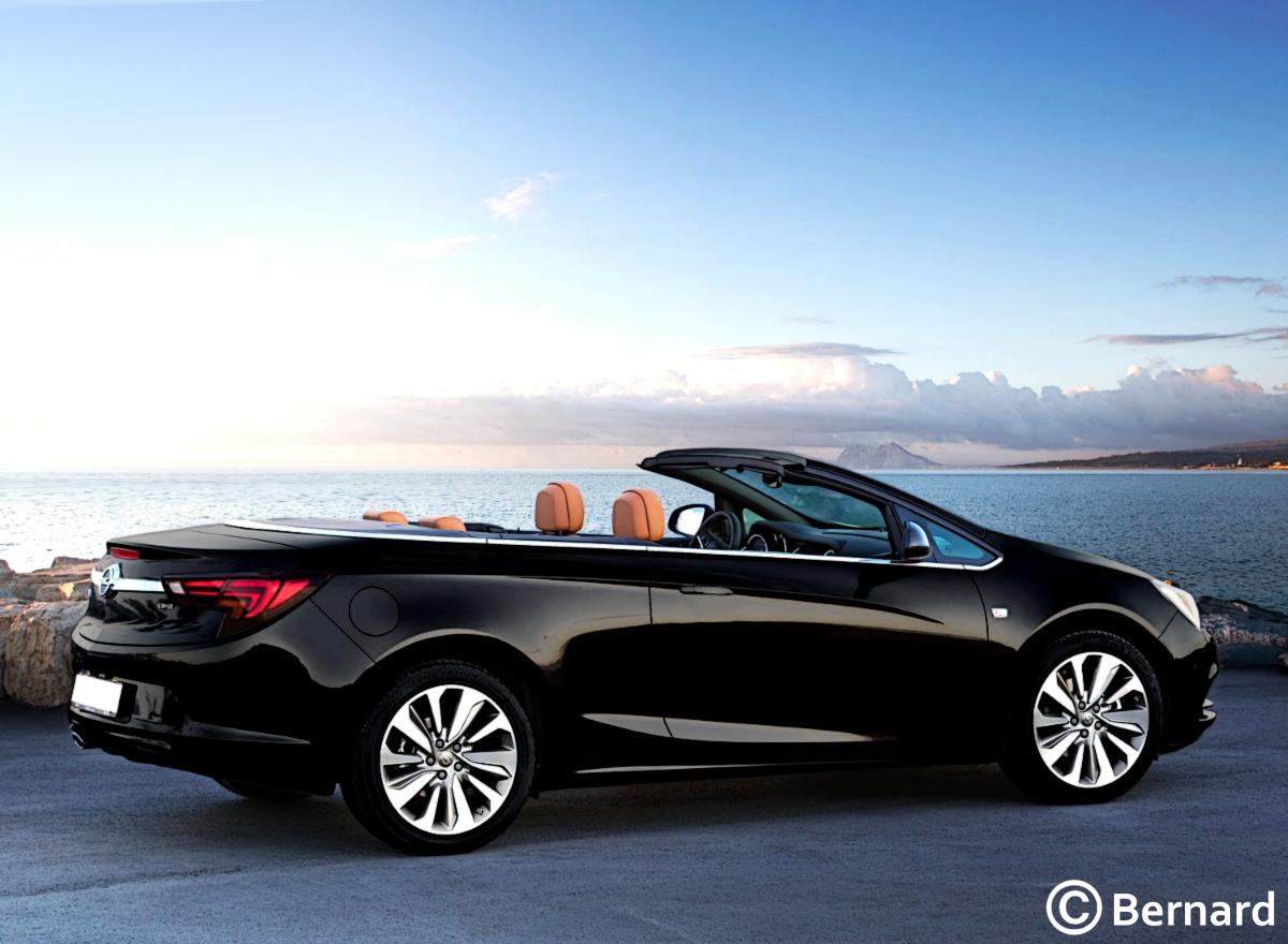 BERNARD CAR DESIGN: 2017 Opel Cascada Facelift