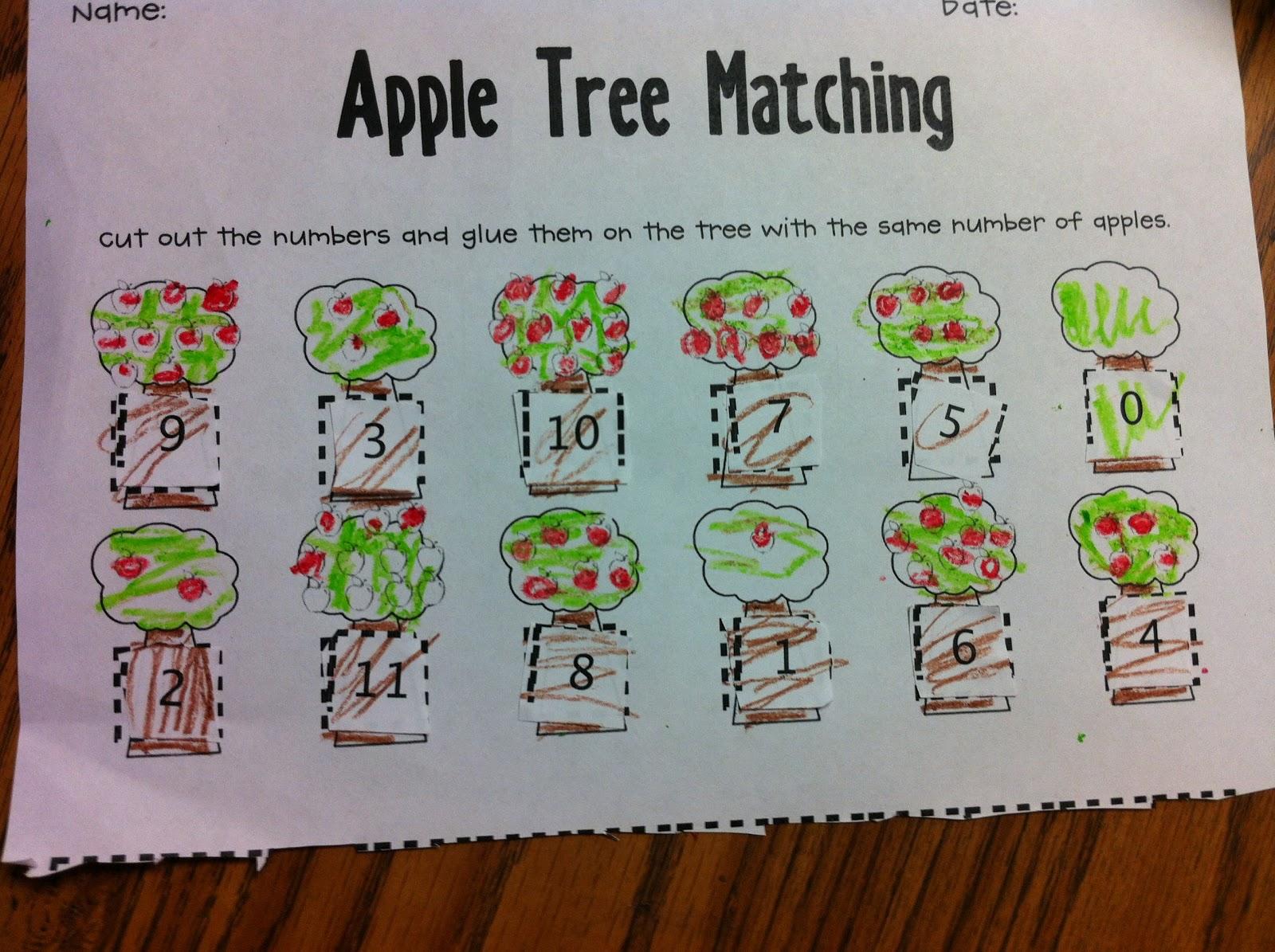 The Adventures Of A K 1 Teacher Fall Fun Apples